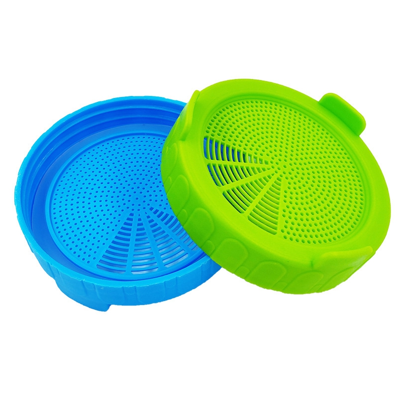 4Pcs-Sprouting-Lids-Food-Grade-Mesh-Sprout-Cover-Kit-Seed-Growing-Germinati-Z3W2 thumbnail 4