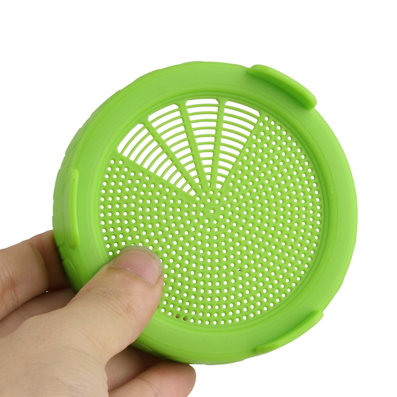 4Pcs-Sprouting-Lids-Food-Grade-Mesh-Sprout-Cover-Kit-Seed-Growing-Germinati-Z3W2 thumbnail 6