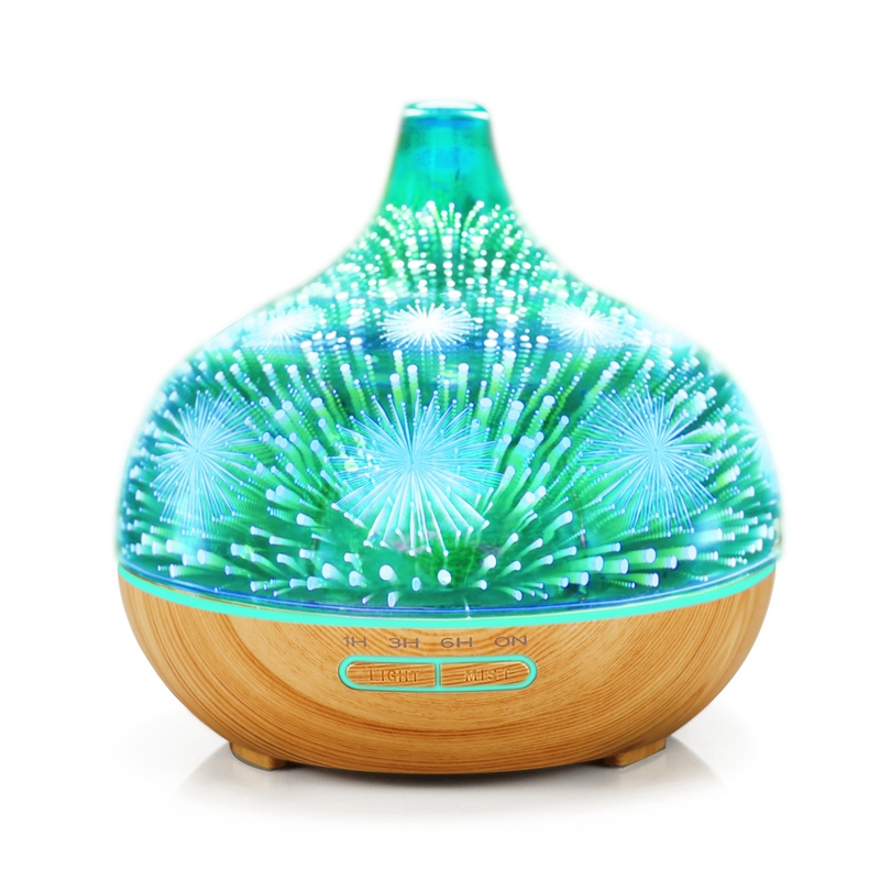 3D-Firework-Glass-Air-Humidifier-with-7Color-Led-Night-Light-Aroma-Essentia-A6R6 thumbnail 3