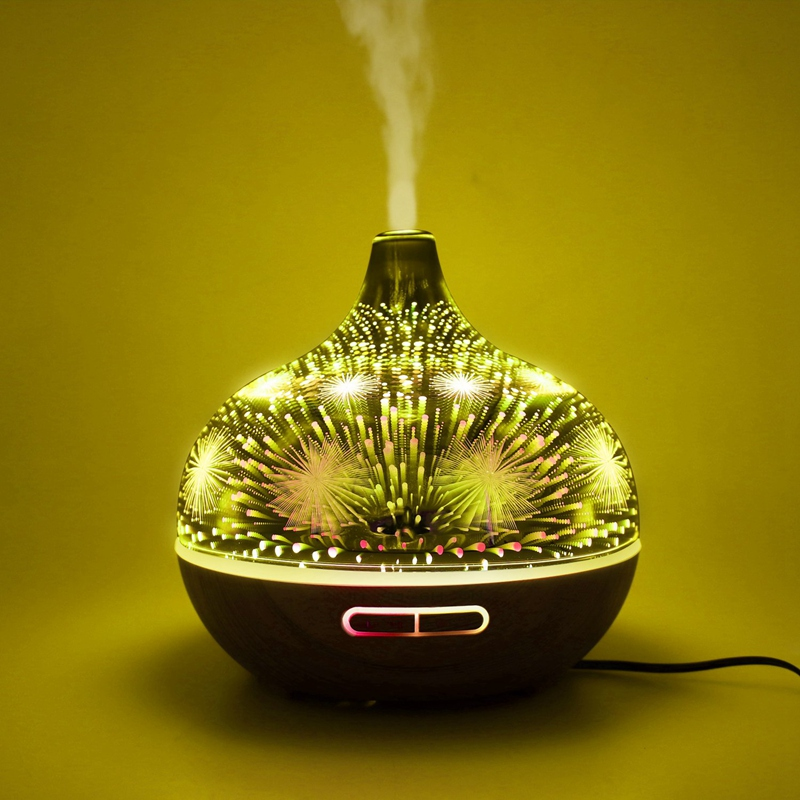 3D-Firework-Glass-Air-Humidifier-with-7Color-Led-Night-Light-Aroma-Essentia-A6R6 thumbnail 9