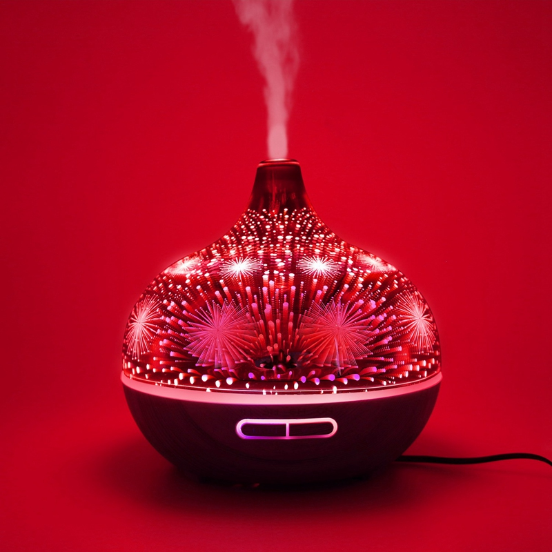 3D-Firework-Glass-Air-Humidifier-with-7Color-Led-Night-Light-Aroma-Essentia-A6R6 thumbnail 15