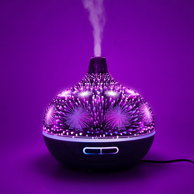 3D-Firework-Glass-Air-Humidifier-with-7Color-Led-Night-Light-Aroma-Essentia-A6R6 thumbnail 28