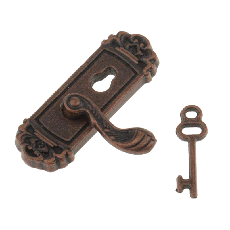 5Pcs Accessoires De Maison De Poupée En Alliage De Cuisine Miniature 1:12 B1D7
