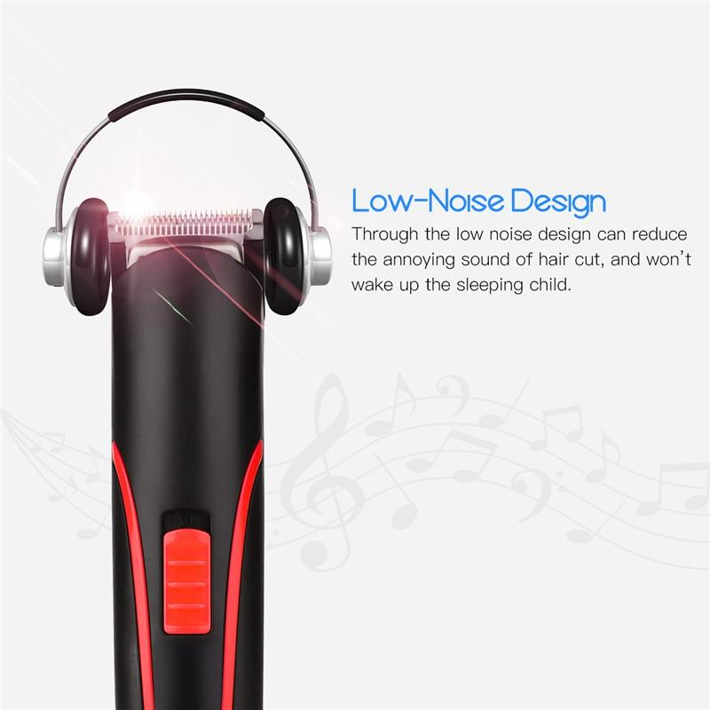 Tondeuse-A-Cheveux-Rechargeable-Portable-Electrique-Sans-Fil-Mini-Tondeuse-N9L1 miniature 7