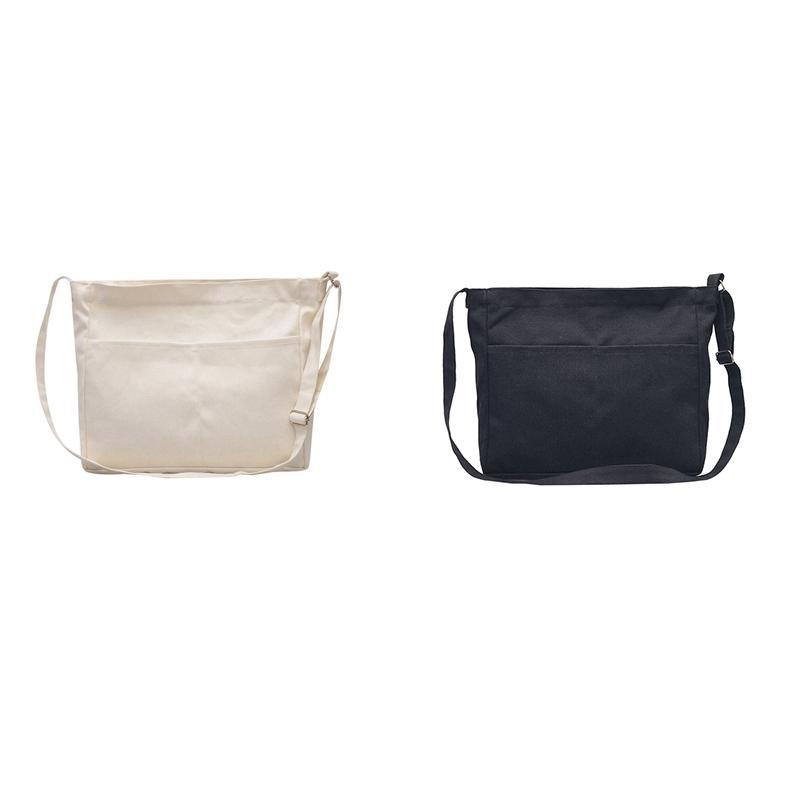 New-Female-Student-Fashion-Wild-Shoulder-Shopping-Bag-Large-Capacity-Canvas-I4B9 thumbnail 8