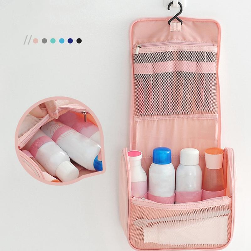 Mode-Voyage-Cosmetique-Sac-Organisateur-Trousse-de-Toilette-Hommes-Impermea-D8R2 miniature 7