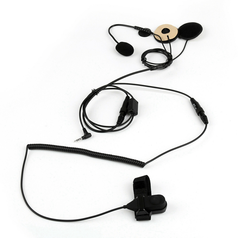 Motorcycle-Helmet-Headset-Microphone-for-Yaesu-Vertex-Vx-3R-Vx-5R-Vx-400-VZ1L5 thumbnail 2