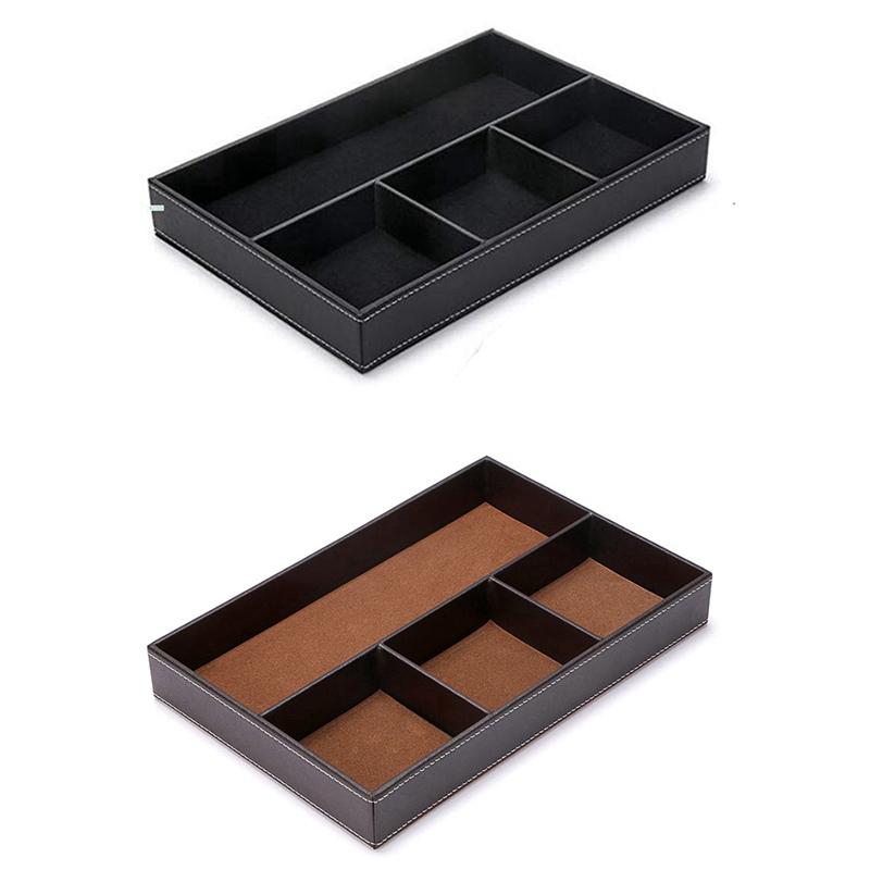 4-Organisateur-de-Tiroir-de-Bureau-pour-Fente-Organisateur-de-Rangement-po-H9K4 miniature 3