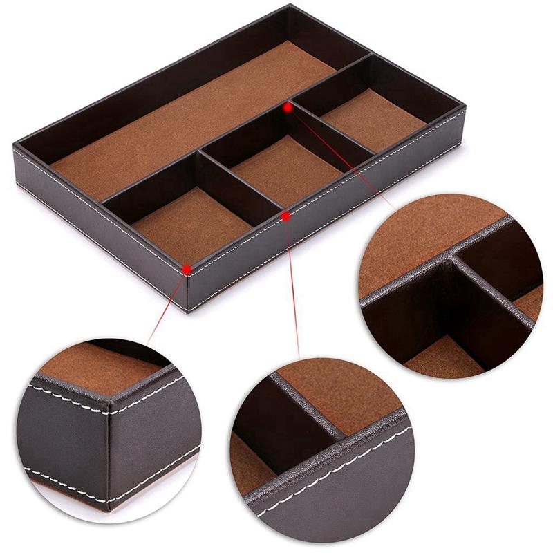 4-Organisateur-de-Tiroir-de-Bureau-pour-Fente-Organisateur-de-Rangement-po-H9K4 miniature 8