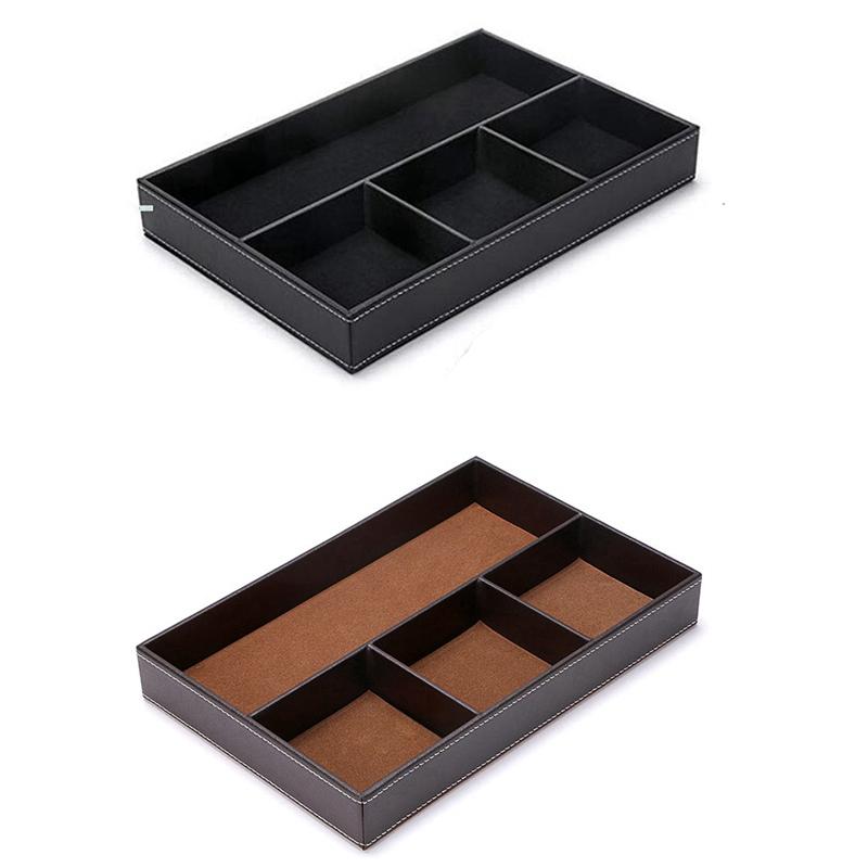 4-Organisateur-de-Tiroir-de-Bureau-pour-Fente-Organisateur-de-Rangement-po-H9K4 miniature 17