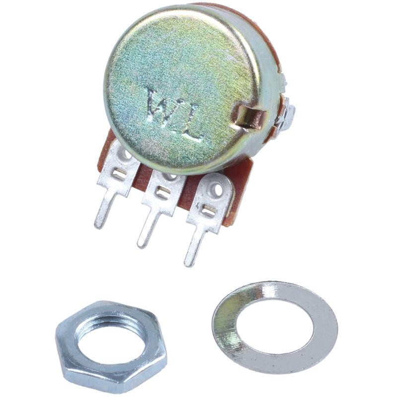 2-Pcs-Single-Linear-Knurled-Shaft-Volume-Rotary-Potentiometers-1K-Ohm-X4A2 thumbnail 6
