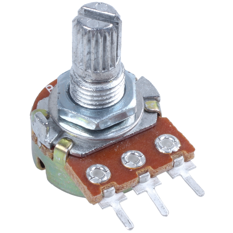 2-Pcs-Single-Linear-Knurled-Shaft-Volume-Rotary-Potentiometers-1K-Ohm-X4A2 thumbnail 7