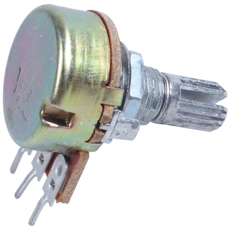 2-Pcs-Single-Linear-Knurled-Shaft-Volume-Rotary-Potentiometers-1K-Ohm-X4A2 thumbnail 9