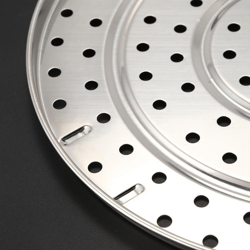 Bac a vapeur en acier inoxydable cuisson a la vapeur etuveuse support 27,5 cm 55