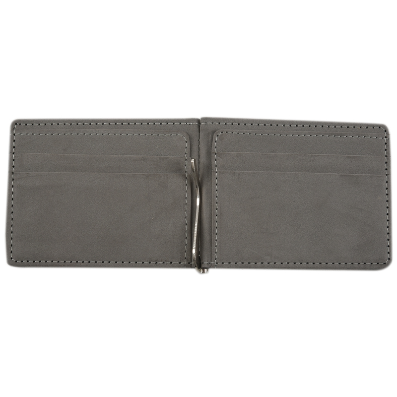 Faux-Leather-Slim-Mens-Credit-Card-Wallet-Money-Clip-Contract-Color-Simple-O8B8 thumbnail 6