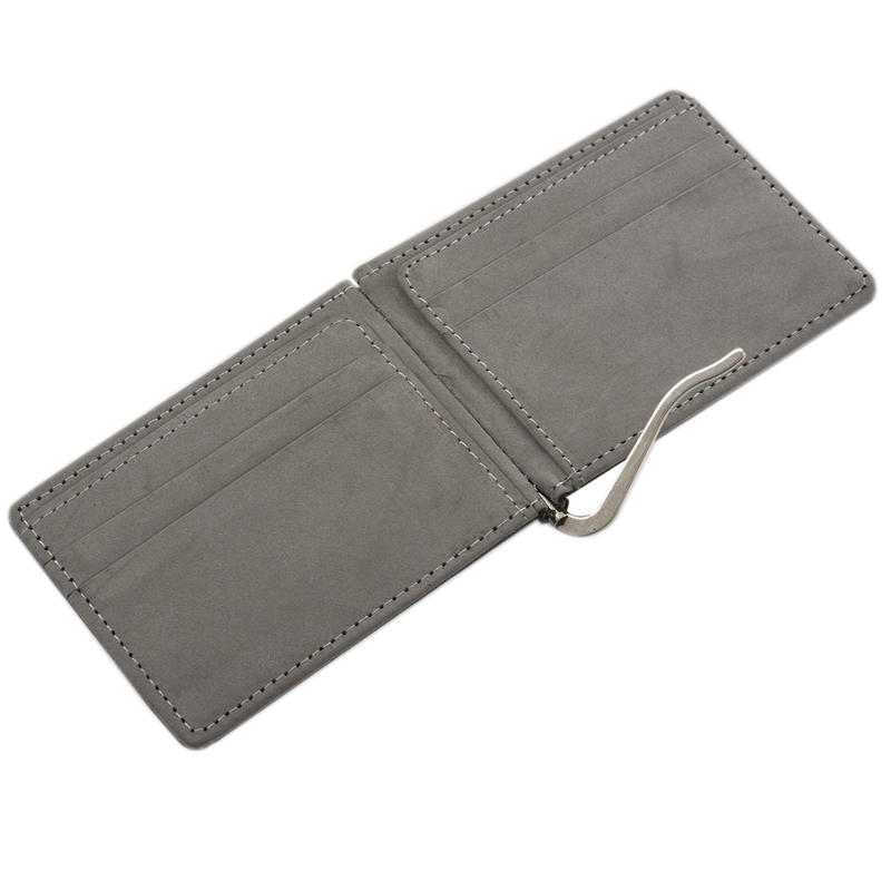 Faux-Leather-Slim-Mens-Credit-Card-Wallet-Money-Clip-Contract-Color-Simple-O8B8 thumbnail 9