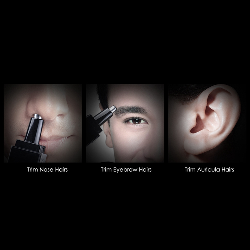 Pritech-Electric-Nose-Hair-Trimmer-Ear-Face-Hair-Clipper-Professional-Ear-C-K3I4 thumbnail 7