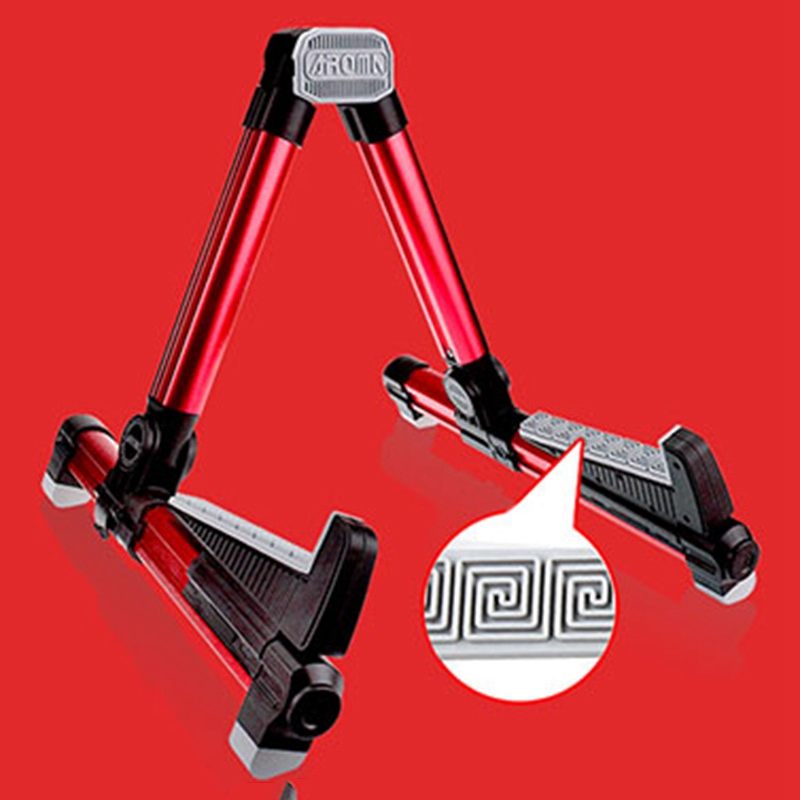 Aroma-Ags-08-Folding-Adjustable-Universal-Instrument-Stand-Use-T5W6 thumbnail 6