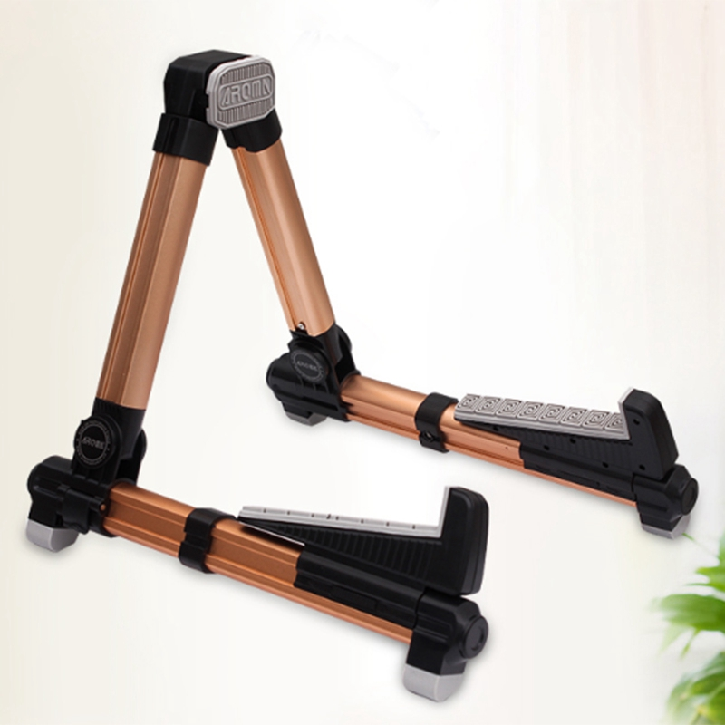 Aroma-Ags-08-Folding-Adjustable-Universal-Instrument-Stand-Use-T5W6 thumbnail 8