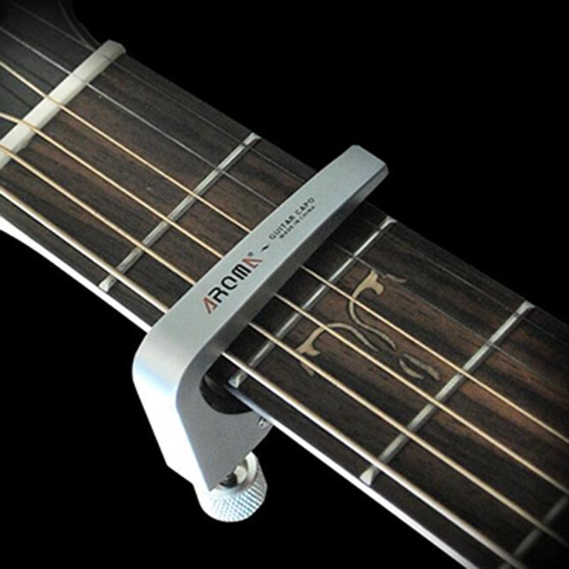 Aroma-Ac-11-Zinc-Alloy-Guitarra-Guitar-Capo-for-Acoustic-Electric-Bass-Guit-D2N1 thumbnail 16