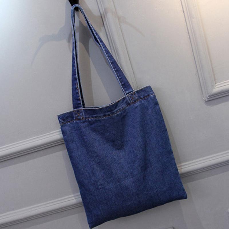 Women-Bag-Large-Capacity-Cowboy-Handbag-Wild-Casual-Canvas-Denim-Shoulder-B-S9R9 thumbnail 7