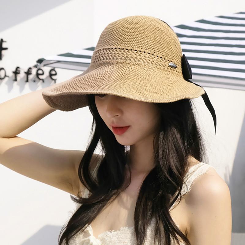 Travel-Visor-Japanese-Girls-Wild-Sunscreen-Art-Fisherman-Hat-Empty-Top-Sun-U2F4 thumbnail 6