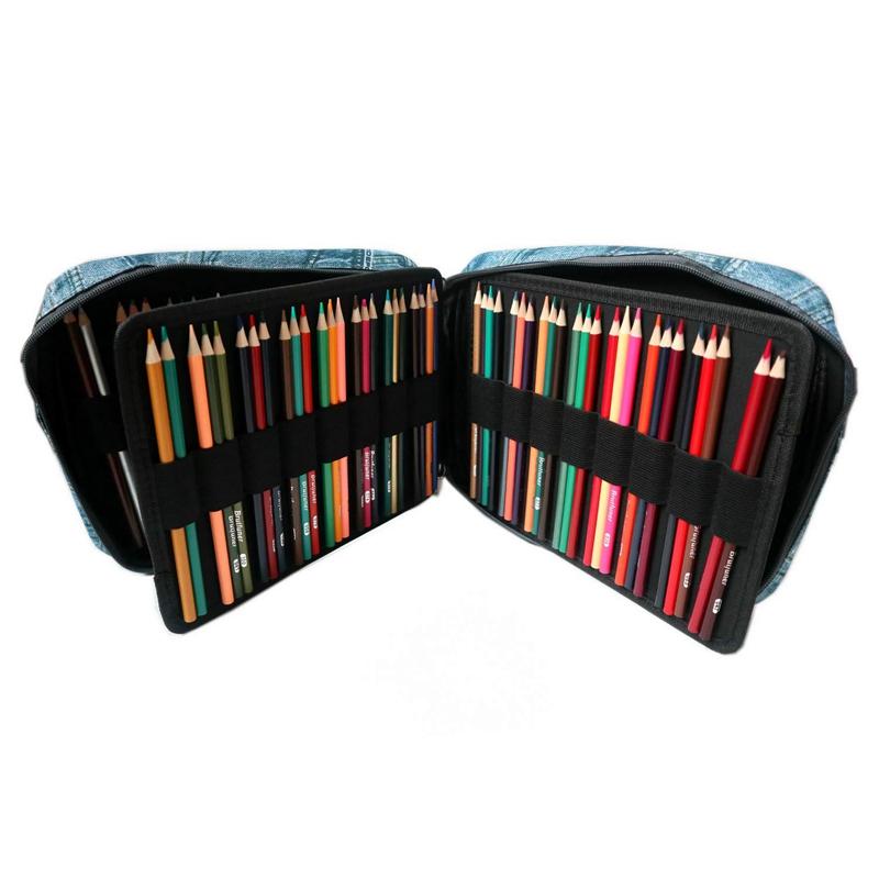 Estuche-de-Lapices-de-Colores-de-Gran-Capacidad-para-150-Lapices-Marcadores-de-L miniatura 5
