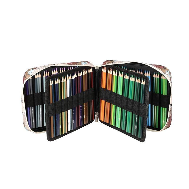 Estuche-de-Lapices-de-Colores-de-Gran-Capacidad-para-150-Lapices-Marcadores-de-L miniatura 12