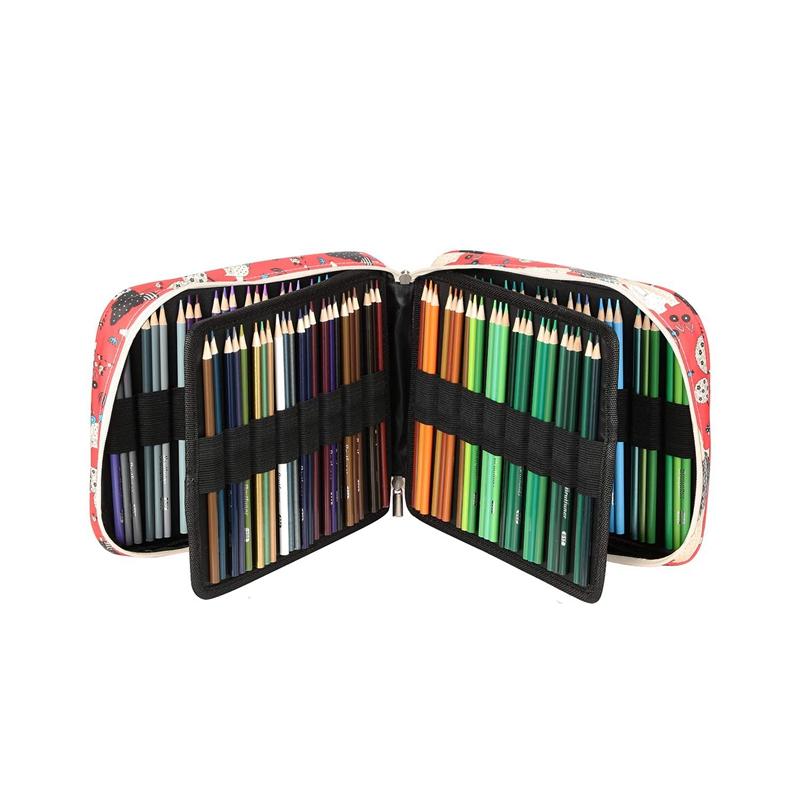 Estuche-de-Lapices-de-Colores-de-Gran-Capacidad-para-150-Lapices-Marcadores-de-L miniatura 24