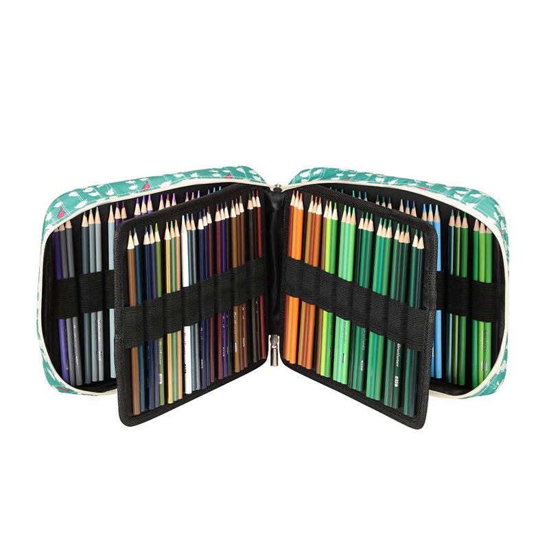 2X-Estuche-de-Lapices-de-Colores-de-Gran-Capacidad-para-150-Lapices-Marcado-F3N2 miniatura 28