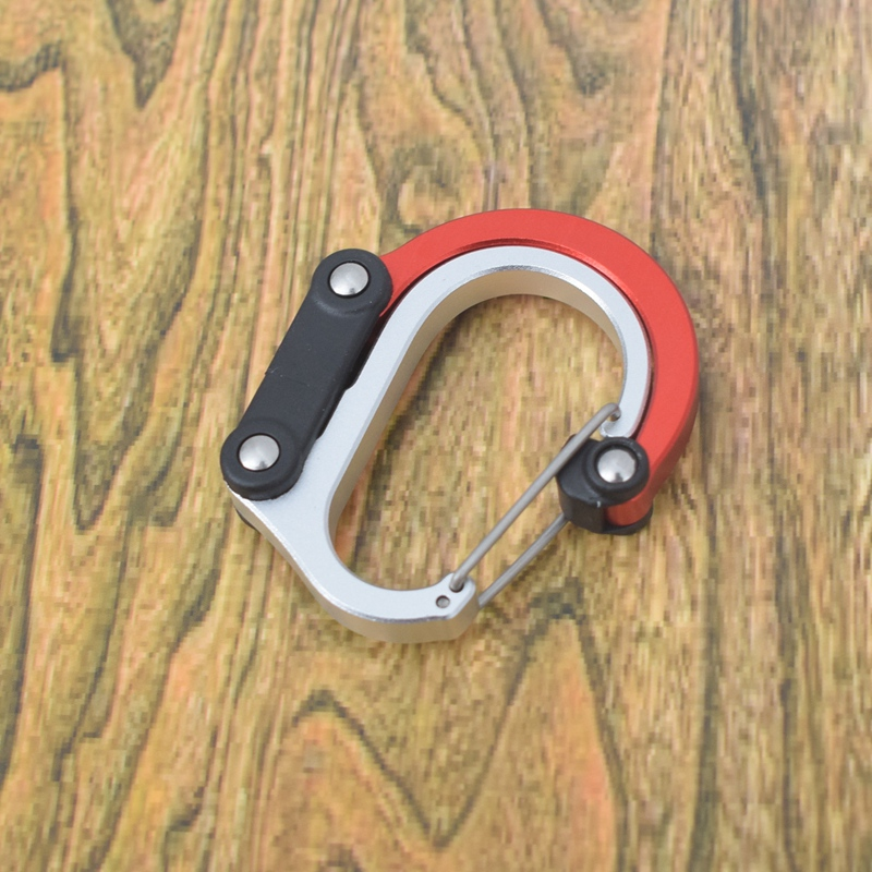 2X-Clip-de-Engranaje-MosquetoN-Clip-de-Gancho-Giratorio-Clips-Fuertes-Sin-B-Z6P5 miniatura 6