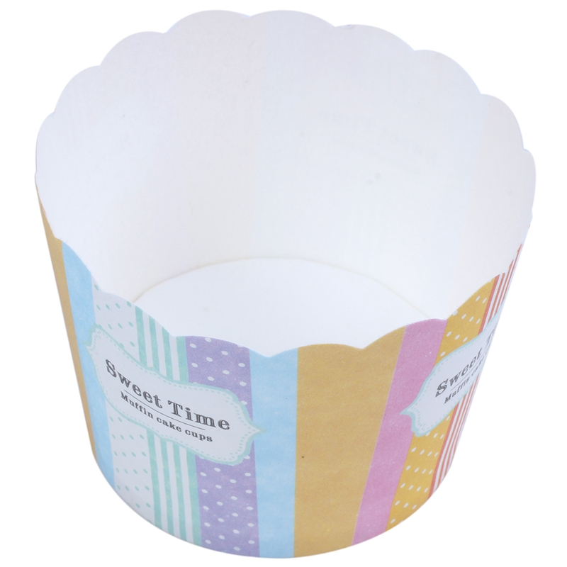 2X(50 Stück Cupcake Tasse Papier Für Muffins Kuchenform Dekoration Süß - Me C4B6