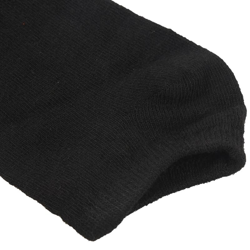 6-paires-de-Chaussettes-de-Sport-en-Coton-Riche-noir-pour-Homme-P6Z2 miniature 8