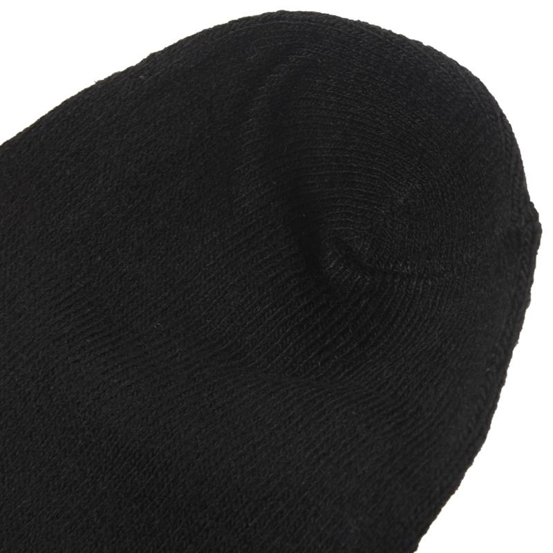 6-paires-de-Chaussettes-de-Sport-en-Coton-Riche-noir-pour-Homme-P6Z2 miniature 9