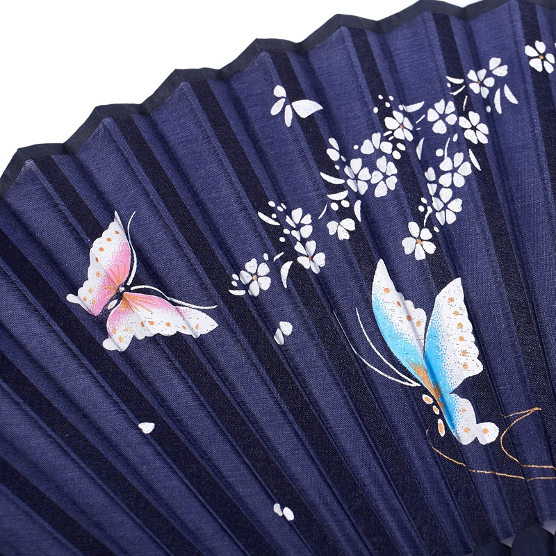 3X-Folding-bamboo-lace-hand-fan-N6J1 thumbnail 9