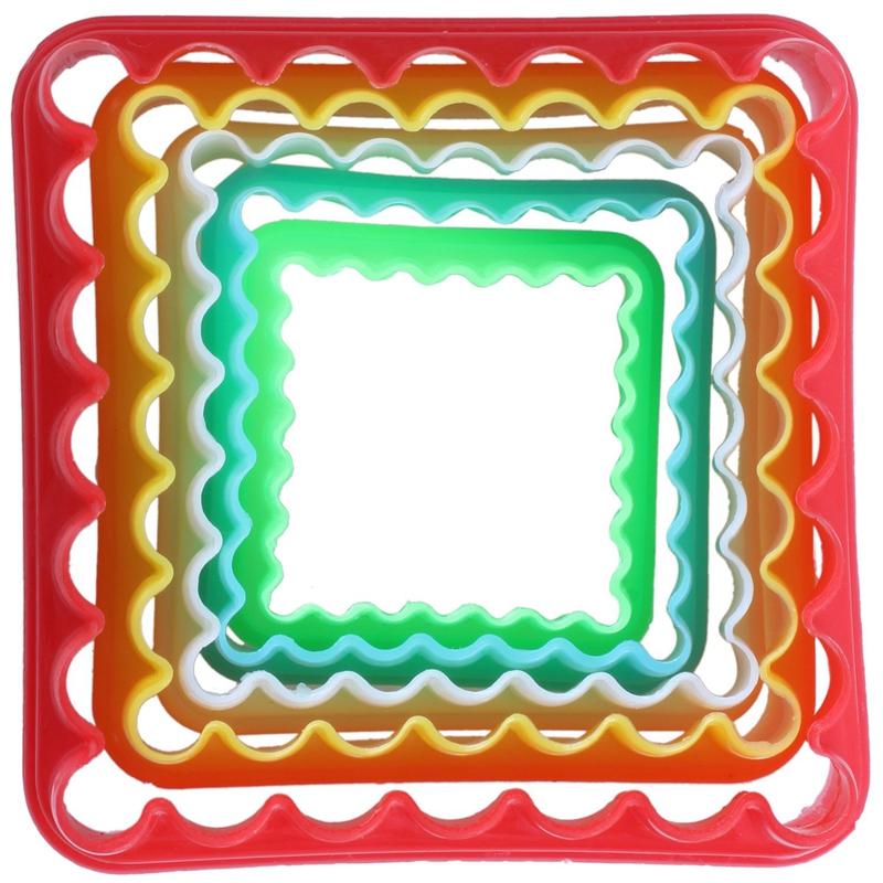 miniature 3 - 5pcs Moule Patisserie Emporte Piece Decoupe Gateau Cookie Pate Pr Noel Cuisine,