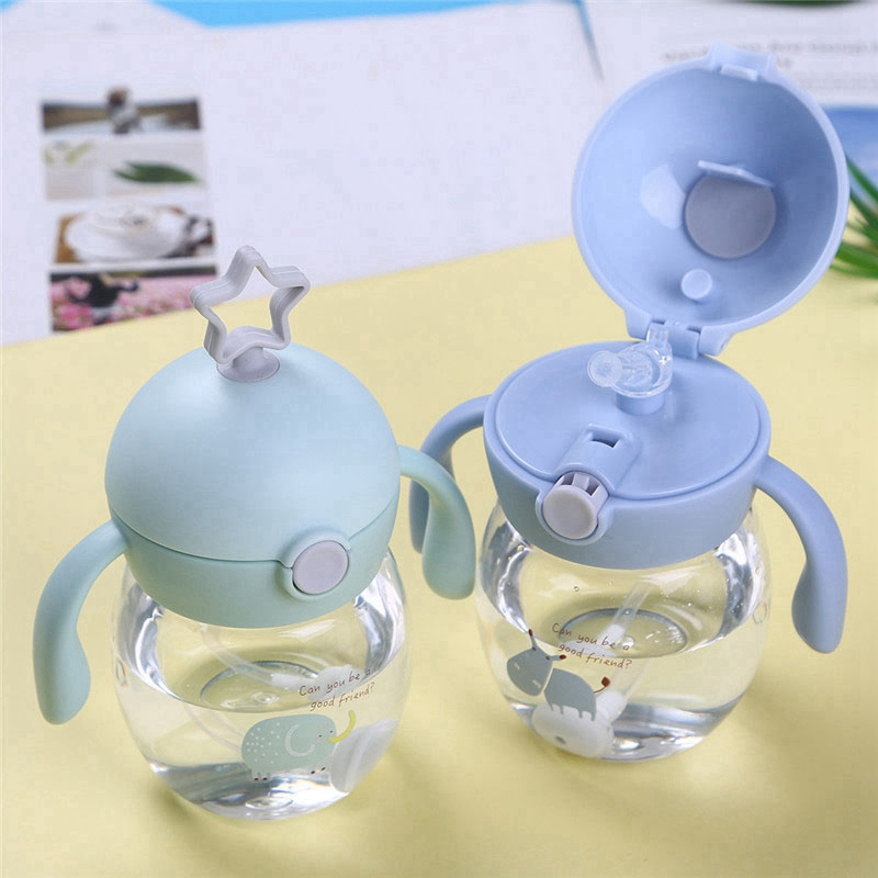 280Ml-Cup-with-Straw-Baby-Feeding-Cup-Kids-Learn-Drinking-Water-Milk-Bottle-V4D5 thumbnail 4
