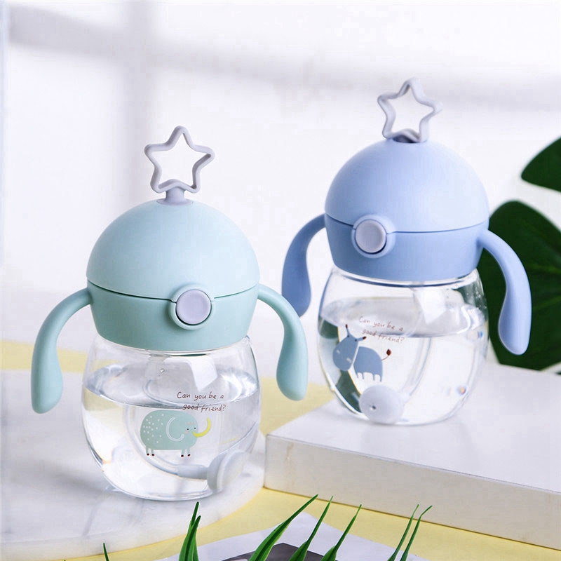 280Ml-Cup-with-Straw-Baby-Feeding-Cup-Kids-Learn-Drinking-Water-Milk-Bottle-V4D5 thumbnail 10