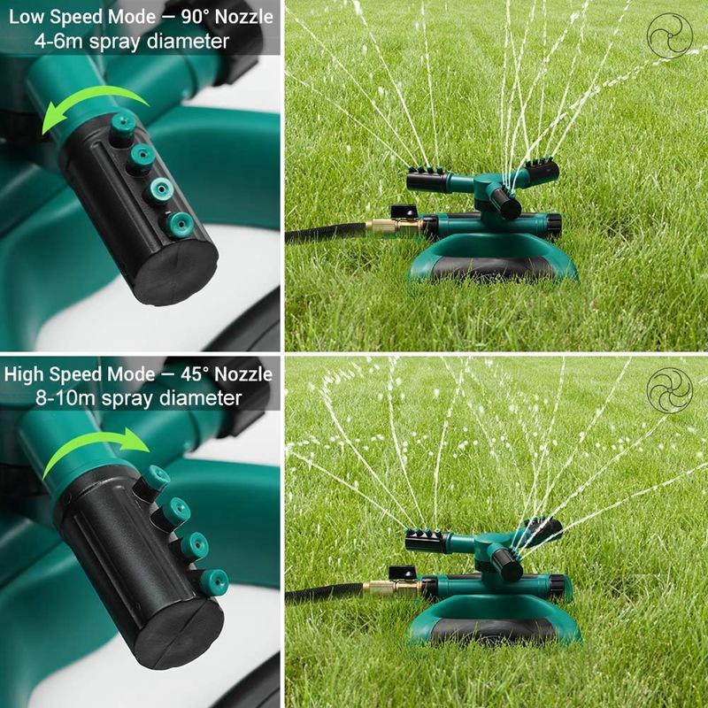 360 degrés réglable pelouse Arroseur Original