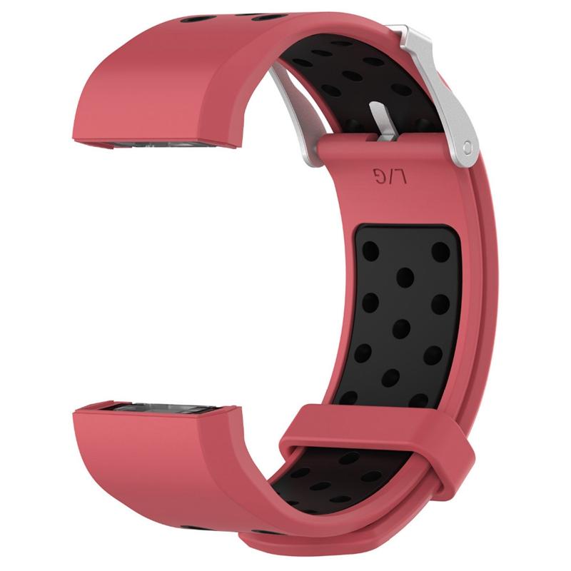 1X-Correa-de-Reloj-de-Silicona-para-Fitbit-Charge-2-Smart-Band-para-Fitbit-L6M9 miniatura 3