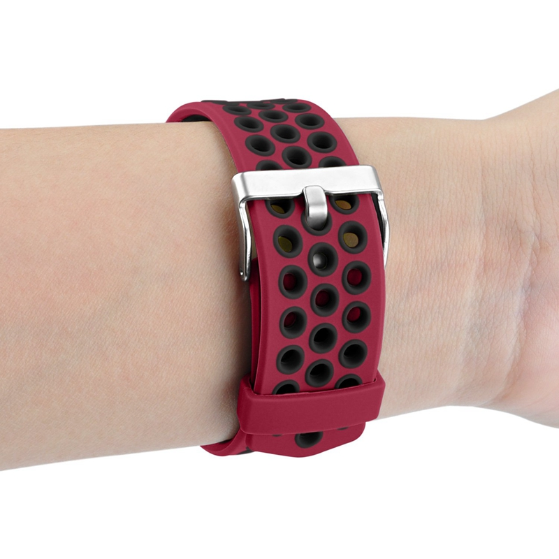 1X-Correa-de-Reloj-de-Silicona-para-Fitbit-Charge-2-Smart-Band-para-Fitbit-L6M9 miniatura 10
