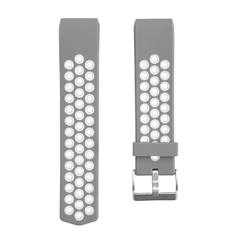 1X-Correa-de-Reloj-de-Silicona-para-Fitbit-Charge-2-Smart-Band-para-Fitbit-L6M9 miniatura 14