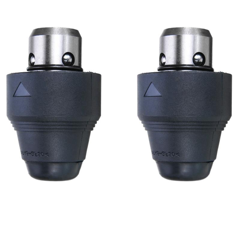 0.8-10mm auto-serrant Perceuse Mandrin tournevis impact driver adaptateur US