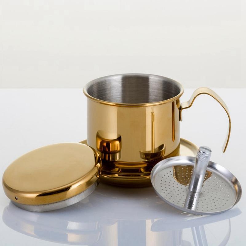 Portable-Coffee-Maker-Stainless-Steel-Mini-Maker-Drip-Coffee-Pot-Filter-Tea-E4R9 thumbnail 11