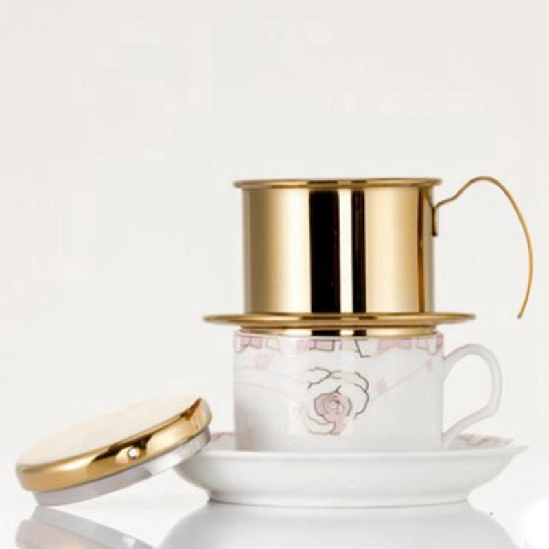 Portable-Coffee-Maker-Stainless-Steel-Mini-Maker-Drip-Coffee-Pot-Filter-Tea-E4R9 thumbnail 16