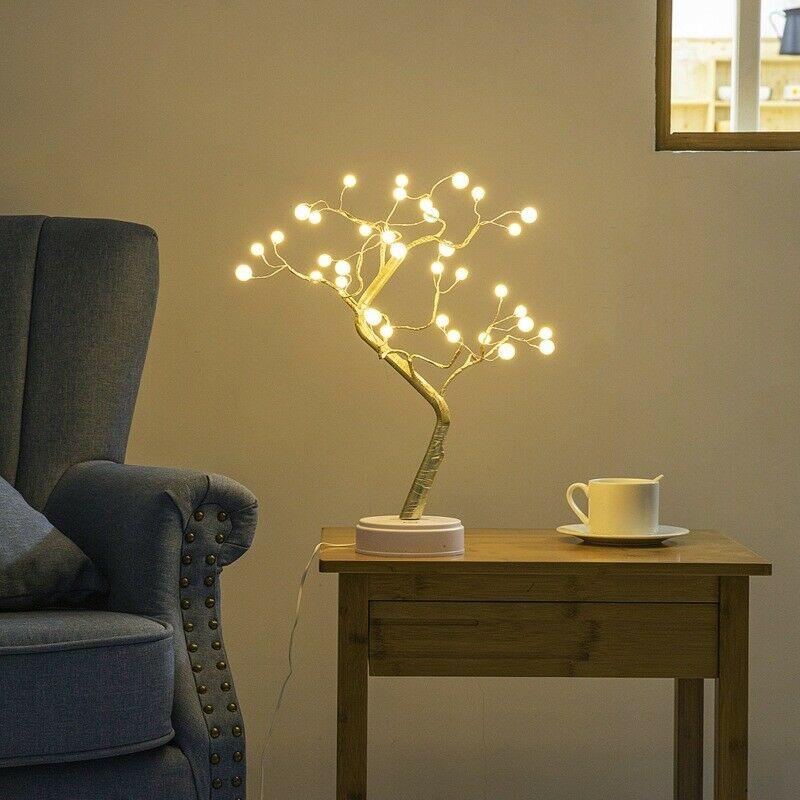 Led-Warm-White-Tree-Light-Tree-Night-Light-Lamp-Press-Switch-Control-Diy-Ni-I6K2 thumbnail 5