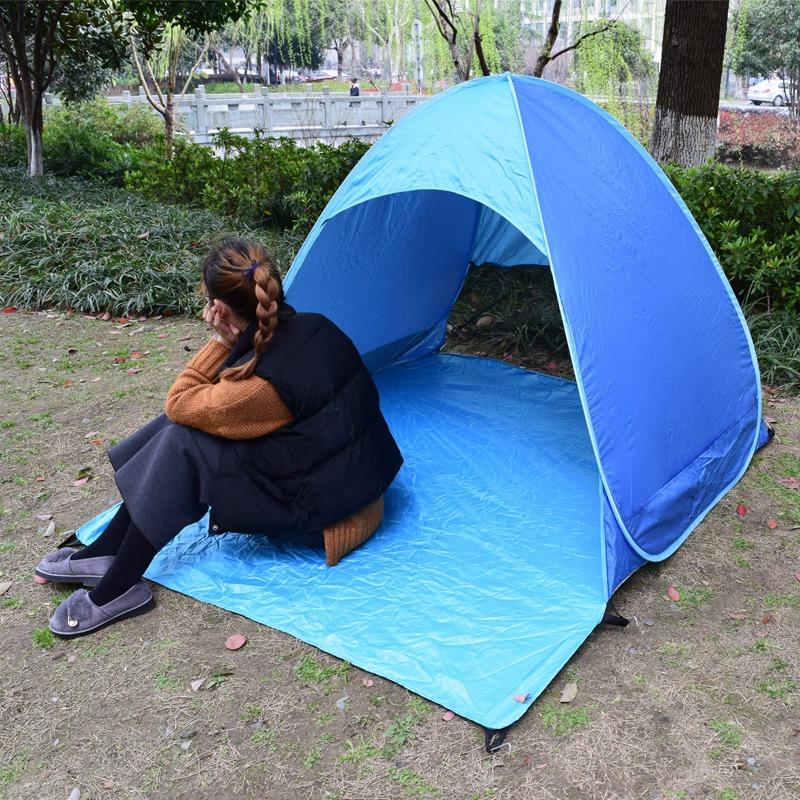 Tente-de-Plage-Ultra-LeGeRe-Tente-Pliante-Pop-Up-Automatique-Tente-B3C5 miniature 12