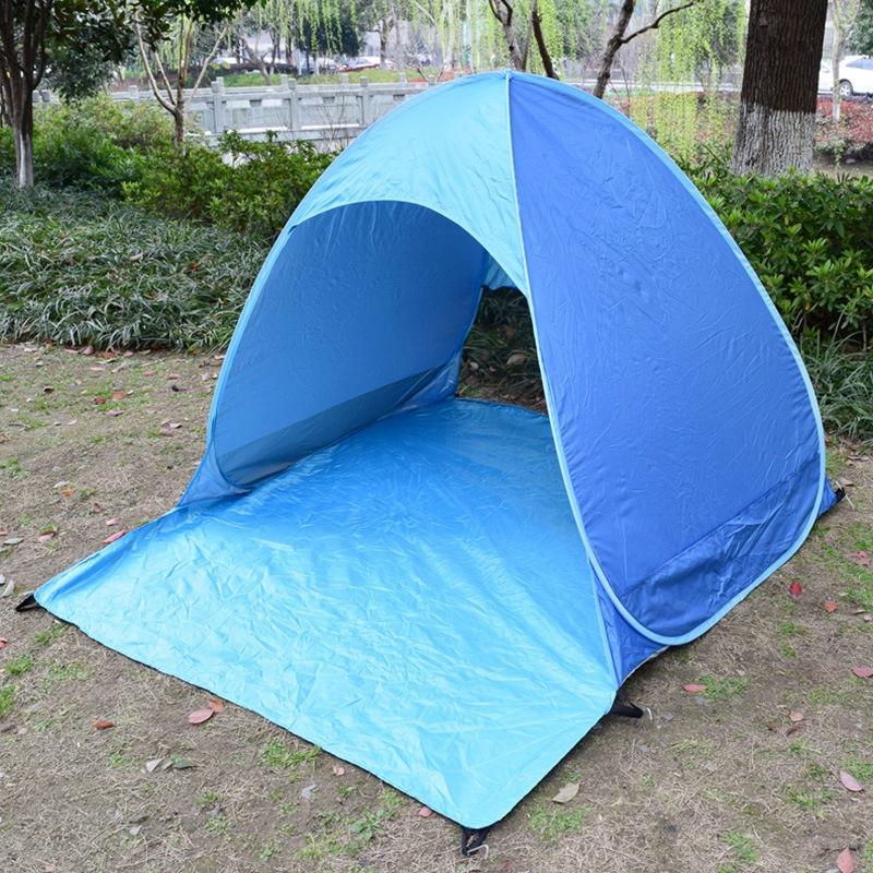Tente-de-Plage-Ultra-LeGeRe-Tente-Pliante-Pop-Up-Automatique-Tente-B3C5 miniature 13