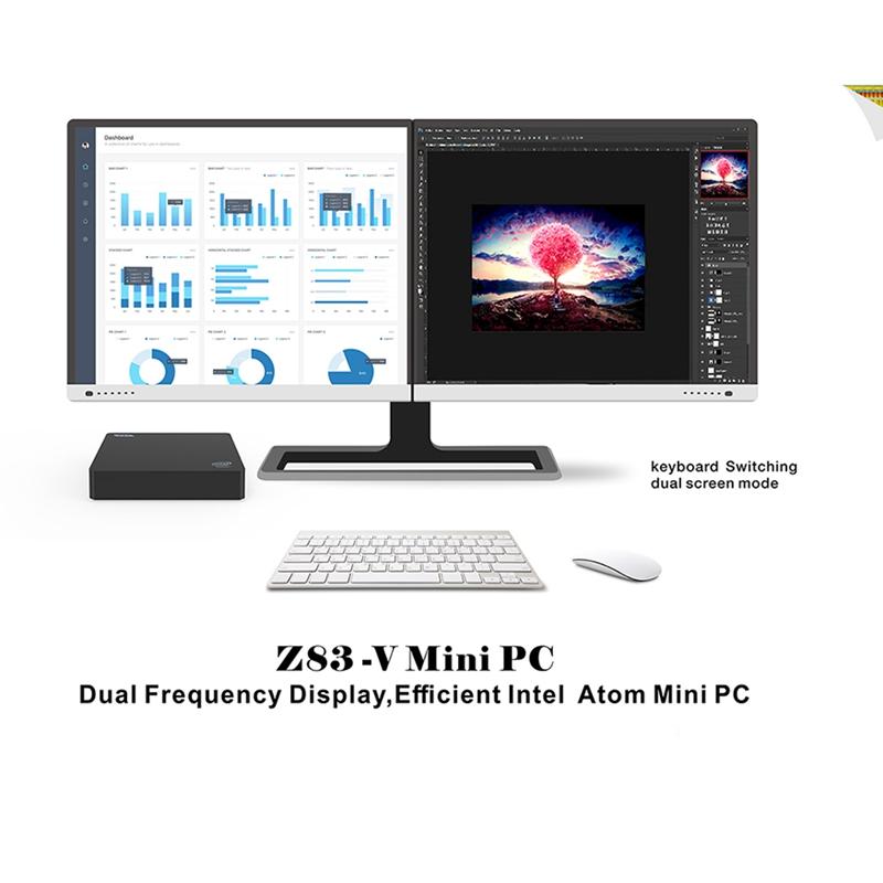 Mini-PC-Z83V-Intel-Atom-X5-Z8350-Computadora-de-Oficina-4Gb-Ddr3-64Gb-Rom-4-M7O2 miniatura 2