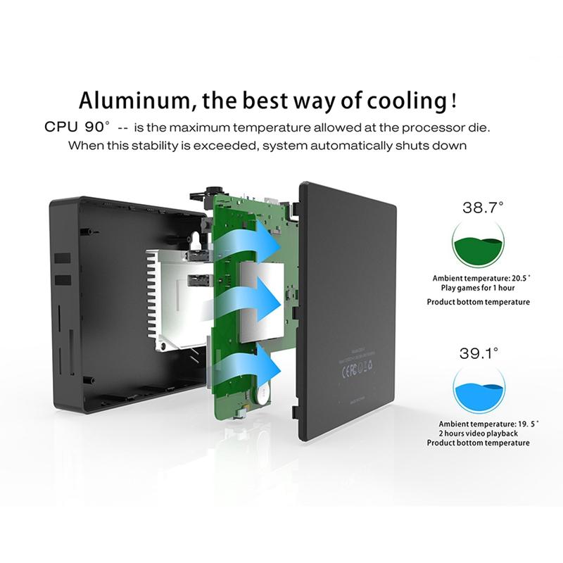 Mini-PC-Z83V-Intel-Atom-X5-Z8350-Computadora-de-Oficina-4Gb-Ddr3-64Gb-Rom-4-M7O2 miniatura 5